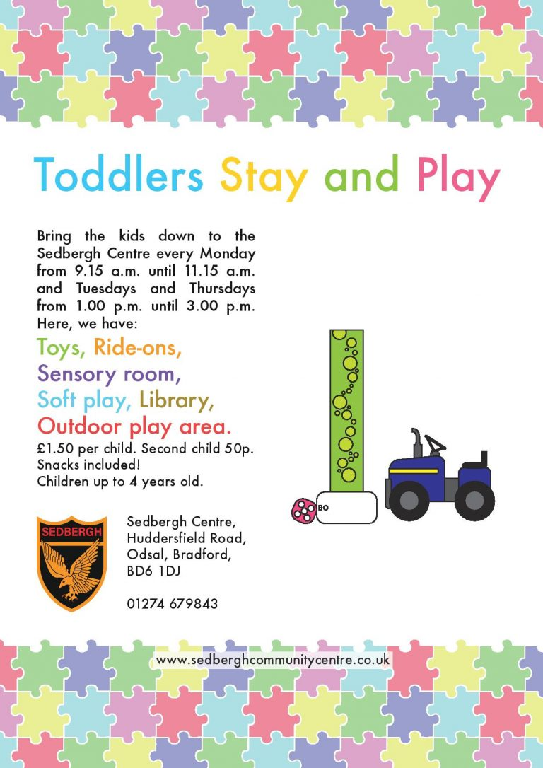 Toddlers Stay and Play poster