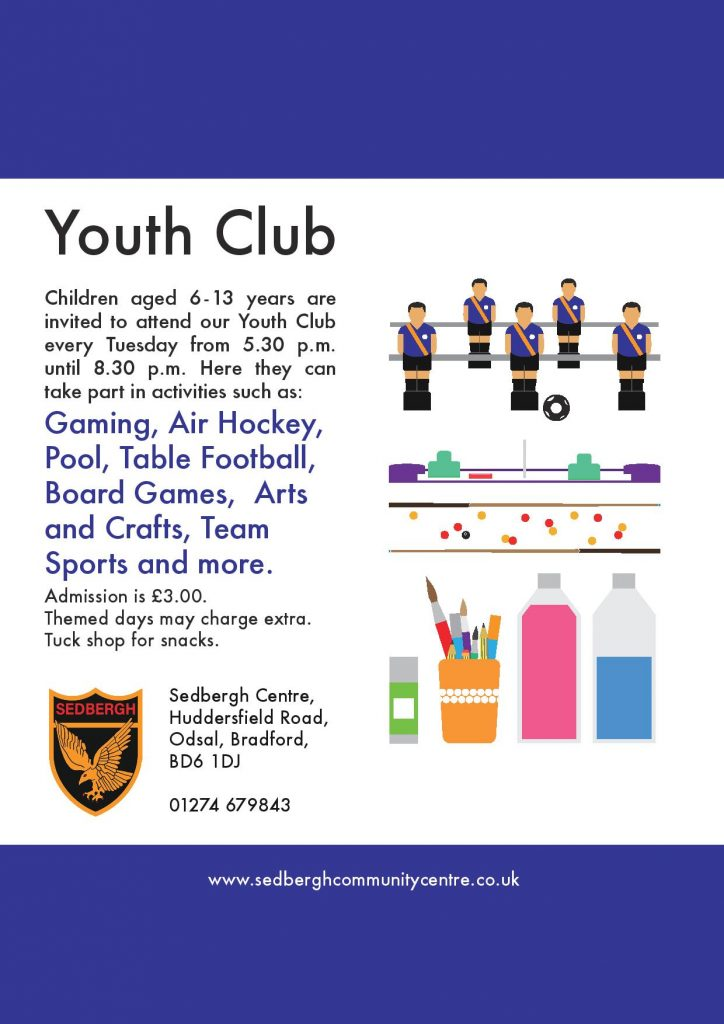 youth club information